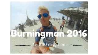 Download Burningman in 360 Degree Virtual Reality Video