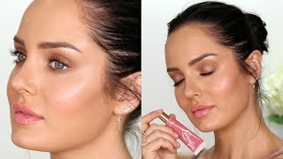 Download How to get Creamy Dewy Skin! \\ Natural Glow Makeup Tutorial Video