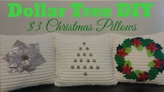 Download Dollar Tree DIY | $3 Christmas Pillows 🎄🎁 Video