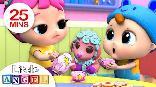 Download Let's Say Please and Thank You (Good Manners Song ) Nursery Rhymes by Little Angel Video