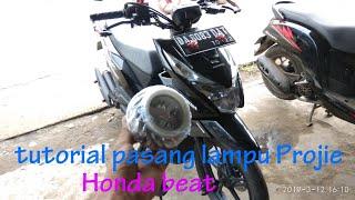 Download Cara Pasang Lampu Projie Honda Beat Fi #cara#lampuprojie#projie#projiebeatfi Video