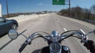 Download Honda shadow 750 Big enough for a man?(highway):srkcycles Video