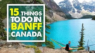 Download TOP 15 THINGS TO DO IN BANFF | Summer Canada Travel Guide 03 Video