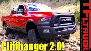 Download 2017 Ram Power Wagon vs Cliffhanger 2.0 Behind the Scenes Off-Road Review Video