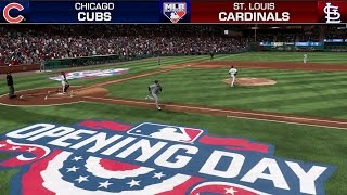 Download MLB The Show 17 Gameplay ⚾ Opening Day 2017 ⚾ Cubs vs Cardinals (Full MLB Network Broadcast) Video