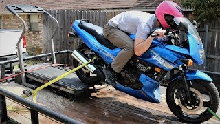 Download Riding a Motorcycle On Our TREADMILL DYNO! Video