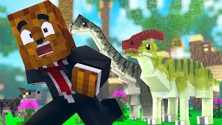 Download Our Baby Dino Family (so CUTE) - Minecraft Jurassicraft Dinos Modpack Episode #3 | JeromeASF Video