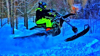 Download JUMPING Creeks! - Snow Bike Video