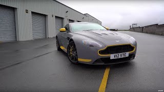 Download Aston V12 Vantage S vs Porsche 911 R - Chris Harris Drives - Top Gear Video