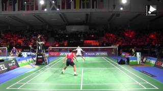Download Kento Momota vs Chou Tien Chen - MS QF [Denmark Open 2015] Video