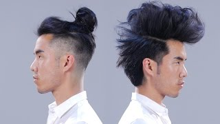 Download 1 Man + 12 Hairstyles Video