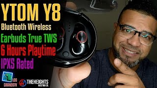 Download YTom YT8 IPX5 Waterproof Earbuds 🎧 : LGTV Review Video