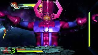Download Galactus play through Ultimate Marvel VS Capcom 3 [Gouki Exclusive] Video
