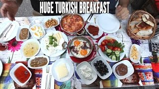 Download Eating A Huge Turkish Breakfast in Istanbul Video