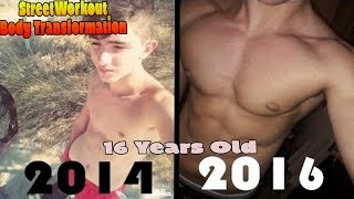 Download My 2 Years StreetWorkout Transformation[Natural] Video