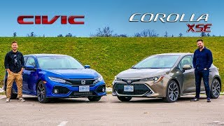 Download 2019 Toyota Corolla Hatchback vs. Honda Civic Hatchback // Is There A Wrong Answer? Video