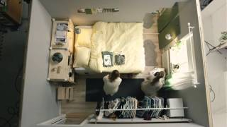 Download IKEA square metre challenge part 1: Tiny bedroom for two Video