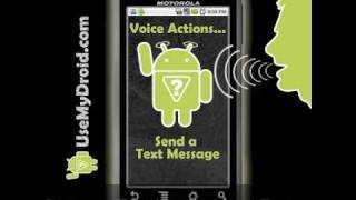 Download Android Voice Commands - Android Voice Actions Basics Video