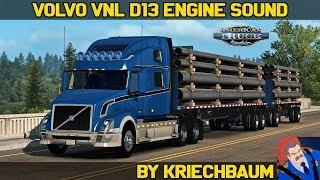 Download ✅ [ATS 1.32] VOLVO VNL D13 Engine Sound by Kriechbaum (W.i.P. Beta) Video