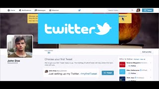 Download Beginner's Guide to Using Twitter for Professional Development - 2015 Tutorial Video