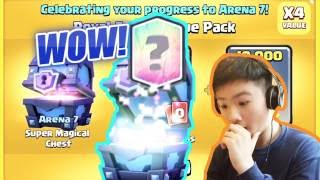Download MY FIRST LEGENDARY!?! | ARENA 7 SPECIAL OFFER | Clash Royale Video