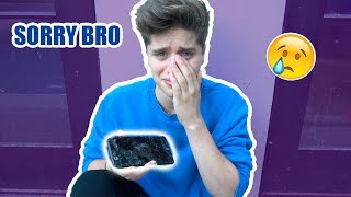 Download I BROKE MY BROTHER'S PHONE (he cried) Video