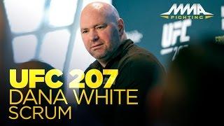 Download Dana White UFC 207 Pre-Fight Scrum Video