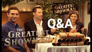 Download The Greatest Showman | Christmas Cracker Q&A | 2017 Video
