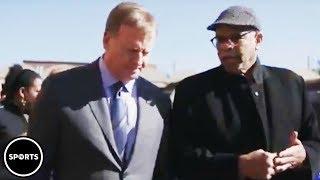 Download Roger Goodell Gets Confronted On Kaepernick Video