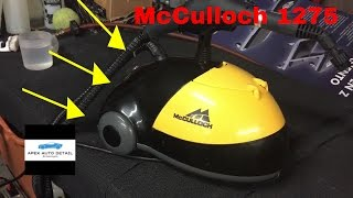 Download The Steam Cleaner I Choose For Mobile Detailing (McCulloch 1275 Steamer) Video