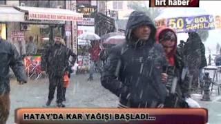 Download HATAY'DA KAR YAĞIŞI BAŞLADI… Video