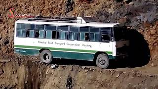 Download Death road | world's most dangerous roads in rohtang pass 2017 | shock wave Video