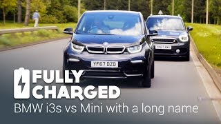 Download BMW i3s vs Mini with a long name | Fully Charged Video