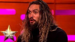 Download Jason Momoa Wows Hugh Grant With Some Dothraki | The Graham Norton Show Video