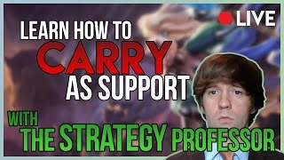 Download 3/29/17 Stream - How to Carry as Support: Climb to Diamond in Solo Queue - League of Legends Video
