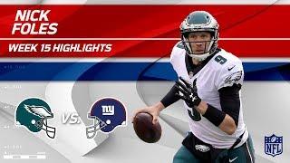 Download Nick Foles Highlights   Eagles vs. Giants   NFL Wk 15 Player Highlights Video