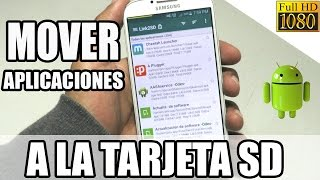 Download Como Mover Aplicaciones de Memoria Interna a la Tarjeta SD (Fácil) Video