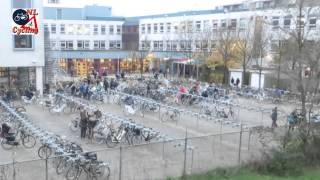 Download Arriving at school on a bicycle (Netherlands) Video
