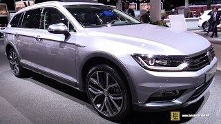 Download 2018 Volkswagen Passat Alltrack TDI - Exterior and Interior Walkaround - 2017 Frankfurt Auto Show Video