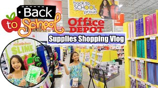 Download BACK TO SCHOOL 🍎 SHOPPING VLOG! ✏️📚 Video