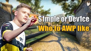 Download You should AWP like Dev1ce, not S1mple Video