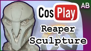 Download Reaper Cosplay Mask Tutorial - Overwatch Costume Sculpt Video