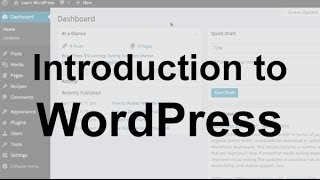 Download WordPress Tutorial 1: Introduction Video