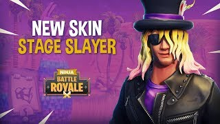 Download NEW Stage Slayer Skin!! - Fortnite Battle Royale Gameplay - Ninja Video