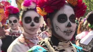 Download James Bond inspires Mexico City's Day of the Dead parade Video