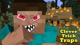 Download Simple Trick-Traps to kill Pros in Mini-Games & Survival - Minecraft Video