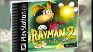 Download Rayman 2: The Great Escape (PSX) - Commercial Video
