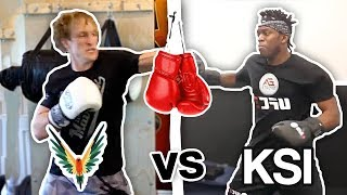 Download Logan Paul VS KSI Training Battle (who will win the fight ?) **newest footage** Video