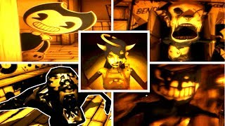 Download All Jumpscares & Deaths: Bendy and the Ink Machine (Chapter 3) Video