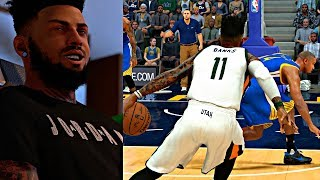 Download BEST CROSSOVER OF FREDDY CAREER! MAKING JUSTICE DO A 360 OFF AN ANKLE BREAKER! - NBA 2K17 MyCAREER Video